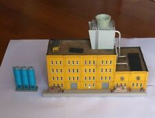 N scale large factory or warehouse building D.P.M, with loading dock etc