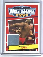 WWE Kane 2012 Topps Heritage WrestleMania 27 Event Used Mat Relic Card