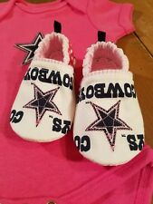 Dallas Cowboys Baby Girl Booties NFL Geer Tailgating Cowboys Girl Booties Only