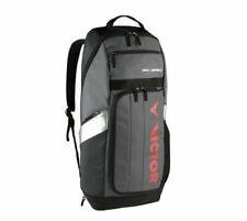Victor Badminton Tennis Long Backpack Bag Racket Racquet Clothing Gray BR-8809