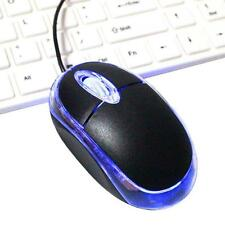 3D 800 DPI LED USB 2 Optical Wired Mouse Mice for Laptop Notebook computer PC MO