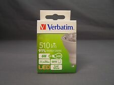Verbatim 65268 240V 6W 4000k GU10 LED Downlight Globe