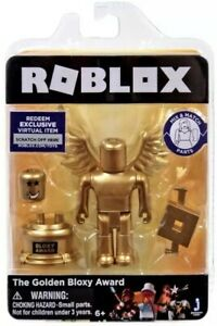 Roblox The Golden Bloxy Award Action Figure New Sealed