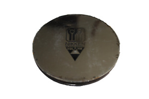 """NIKKEN Kenko Pad MAX Round Silver 3.5"""" Excellent Used Condition~"""