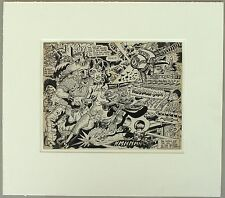Original Art by Zap! artist S. Clay Wilson, Pirate, 1960's