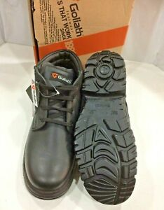 Goliath Cooks Ankle Safety Work Boots SDR12 Brand New With Box