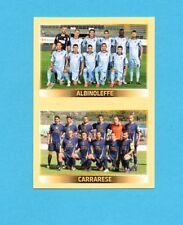 PANINI CALCIATORI 2013-2014-Figurina n.-780-ALBINOLEFFE+CARRARESE-SQUADRA-NEW