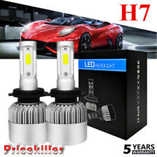 CREE H7 LED Headlight Conversion Bulb Kit 110W 26000LM High Power White 6000K US