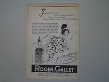 advertising Pubblicità 1957 ROGER & GALLET JEAN MARIE FARINA
