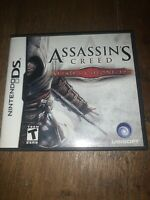 Assassin's Creed II: Discovery Nintendo DS (2009) - Complete - FUN GAME