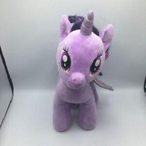 "Build A Bear Purple With Black Hair Little Pony Sunset Shimmer Stuffed Plush 17"""