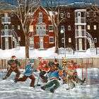"""30W""""x30H"""""""" AFTER SCHOOL by NICOLE LAPORTE - HOCKEY HABS CANADIENS BRUINS CANVAS"""