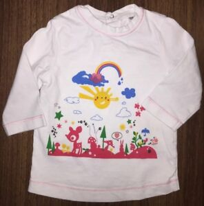 Girls Age 0-3 Months - Long Sleeved Top From Miracle Of Love