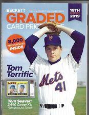 2019 BECKETT GRADED CARD PRICE GUIDE # 16 - TOM SEAVER COVER PRICE $29.95
