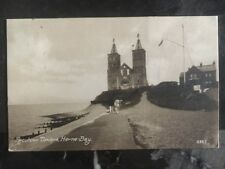 1926 Herne Bay England Picture postcard Cover Reculver Towers