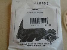 2 x Rotosound Phosphor Bronzo JKR058 .058 singola stringa