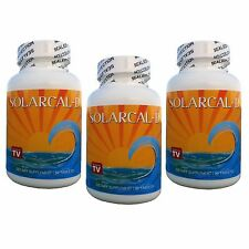 3 SolarCal-D 1500mg Marine Coral Calcium 2000 iu Vitamin D3 Bob Barefoot Supreme