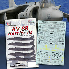 AV-8B Harrier II: HMM 163, USS Peleliu (1/48 decals, Superscale 481228)