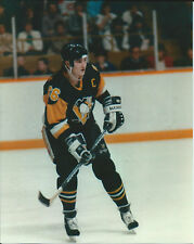 mario lemieux penguins color 8x10 1985 season in action at civic arena