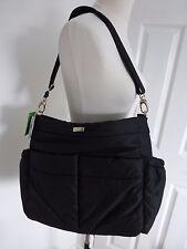 BNWT Kate Spade Black Nylon Adamson Baby Tote Bag with Changing Mat