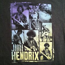 Jimi Hendrix Photos T-shirt Gray Size M Fender Guitar zion 2012