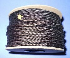 "5/32"" x 75' Spool of Premium Brown & Black Boot Lace / Draw String Made in USA!"