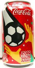 NEW FULL 12oz 355ml Can USA American Coke Coca-Cola 2010 FIFA World Cup Soccer