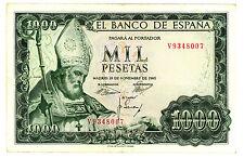 Spain.....P-151.....1.000 Pesetas.....1965.....*VF*