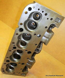 Pro Topline #223-2000-80 SINGLE Cylinder Head, 2.02/1.60, 180cc Int, Str Plug