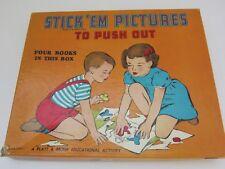 Platt& Munk Educational Activity 4 Books 1950 Exc