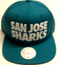NHL San Jose Sharks Mitchell and Ness Vintage Throwback Snapback Hat Cap M&N NEW