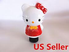 White & red Hello Kitty JDM Car Custom Stick Shift Gear Lever Shifter Knob