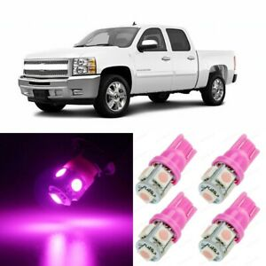 13 x Ultra PINK Interior LED Lights Package For 2007- 2013 Chevy Silverado +TOOL