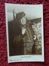 IVAR ANDRESEN    - NORWEGIAN OPERA SINGER   -  AUTOGRAPHED  POSTCARD  PHOTO