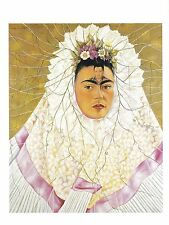 Frida Kahlo : Self Portrait (Diego in My Thoughts) circa 1943, Mexico Postcard!
