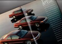 1996 Lincoln ANNIVERSARY EDITION Brochure / Flyer: CONTINENTAL,TOWN CAR, Mark 8