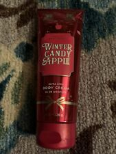 New listing bath and body works winter candy apple body cream