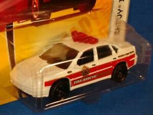 2008 MATCHBOX EMERGENCY RESPONSE #58 Fire Rescue Chevy Impala, MOC! MF2