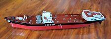 "Vintage 1961 Wen-Mac Texaco Ss North Dakota Toy Model Tanker Ship 27"""