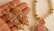 Indian Bollywood Ethnic Earrings Set  Fashion Jewelry
