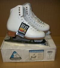 JACKSON COMPETITOR HEAT MOLDABLE LEATHER ULTIMA MIRAGE BLADE 5 B FIGURE SKATE