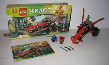 70501 LEGO Ninjago Warrior Bike 100% Complete w box & Instructions EX COND 2013