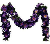 Daisy Garland 5ft Silk Flowers Wedding Arch Gazebo Table Runner Backdrop Chuppah