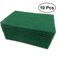 10PCS Microfiber Scouring Pad Water Absorbent Cleaning Cloth for Bowl/Pan/Pot