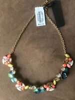 J.Crew Factory CRYSTAL PAINT PARTY NECKLACE! Sold Out!