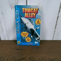 Tomcat Alley Sega CD Instruction Manual Booklet NO GAME FREE SHIPPING