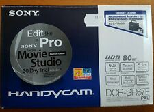 Sony Handycam DCR-SR67E 80GB HDD Video Camera