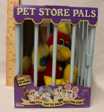 RARE! Vintage 1980s PLUSH 1988 PET STORE PALS PARROT BY TONKA NEVER OPENED! WOW!
