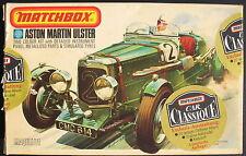 MATCHBOX PK-301 - ASTON MARTIN ULSTER + Anstecknadel + Oldtimer-Album - 1:32 KIT