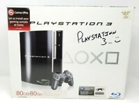 Sony PlayStation 3 PS3 80GB Console System EMPTY BOX ONLY (NO CONSOLE)